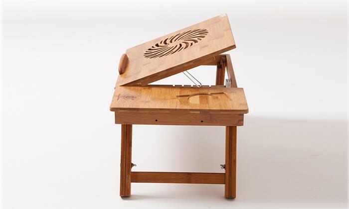 6 שולחן במבוק למחשב נייד