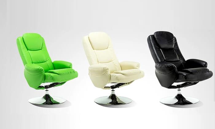 2 כסא מתכוונן עם הדום Hometown