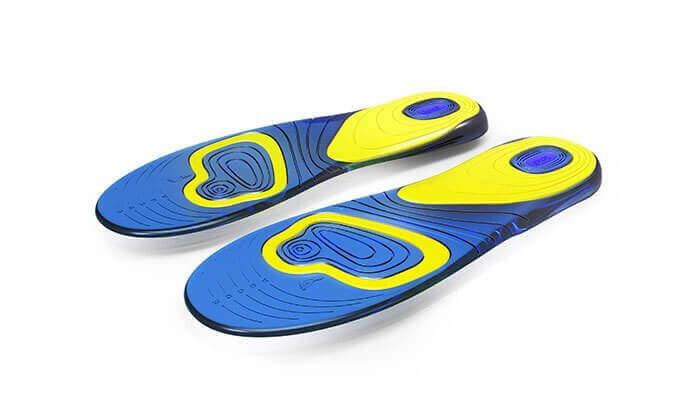 2 זוג מדרסי ג'ל לנעליים