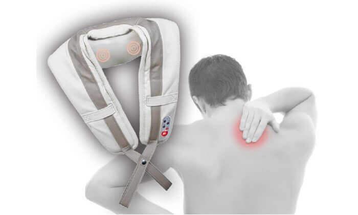 2 חגורת עיסוי לצוואר ולכתפיים