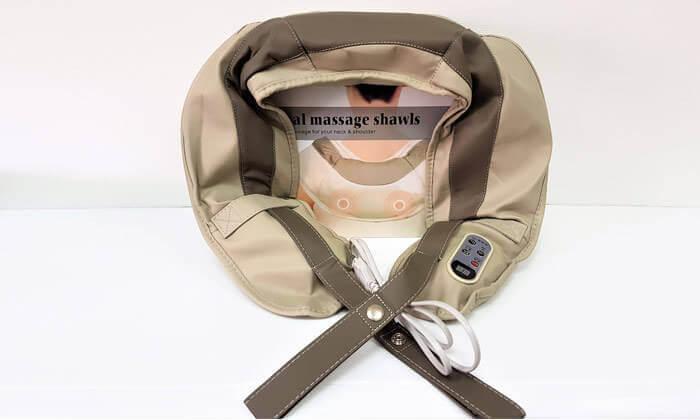 3 חגורת עיסוי לצוואר ולכתפיים