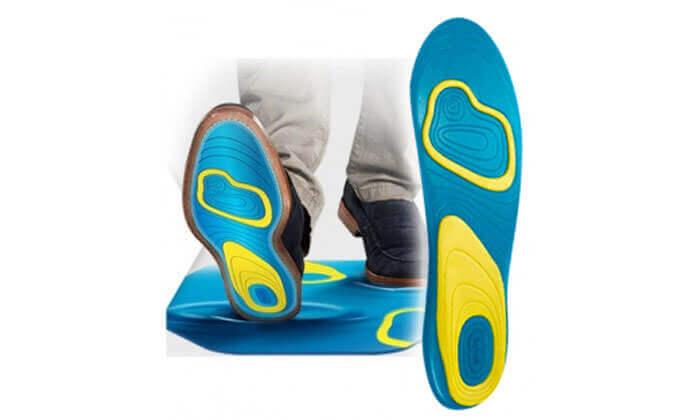 3 זוג רפידות ג'ל לנעליים