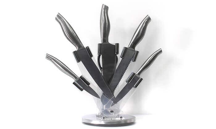 2 מארז 5 סכיני נירוסטה