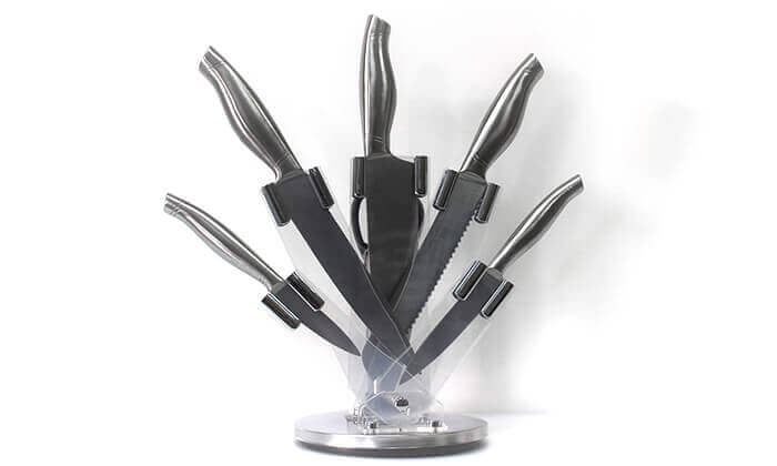 4 מארז 5 סכיני נירוסטה
