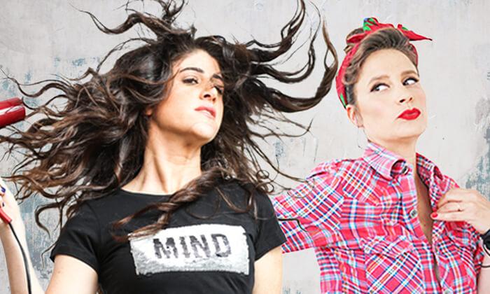 2 סטנדאפ של דורין קריו ומיטל אבני - כרטיס למופע בבית ציוני אמריקה, תל אביב