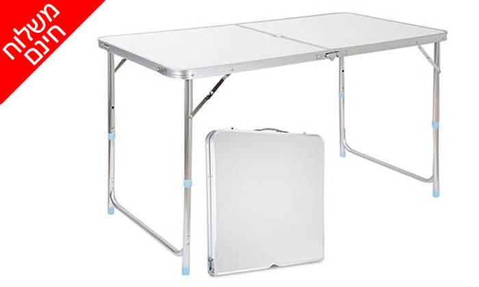 6 שולחן פיקניק מתקפל- משלוח חינם !