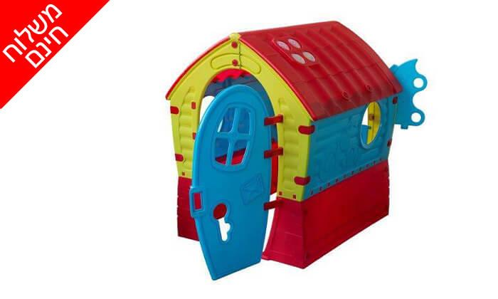 2 בית ילדים צבעוני PalPlay - משלוח חינם!