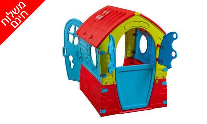 3 בית ילדים צבעוני PalPlay - משלוח חינם!