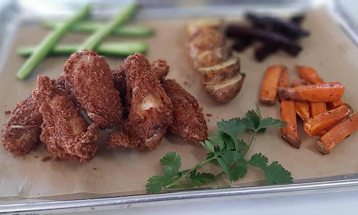 5 ארוחת צהריים אורגנית במשק מלמד, כפר הנגיד