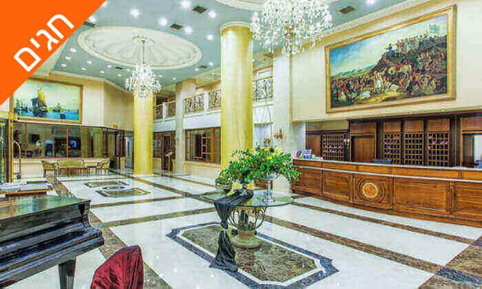 """8 חופשה בסלוניקי במלון 5 כוכבים מומלץ, כולל סופ""""ש ושבועות"""