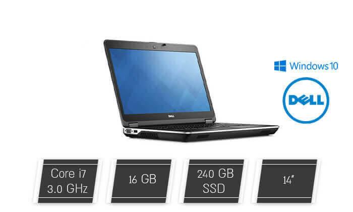 """2 מחשב נייד דל DELL עם מסך """"14 וכ. גרפי GeForce"""