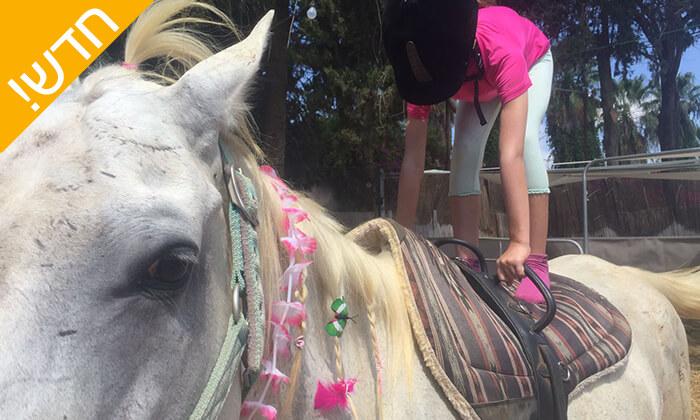8 קייטנת רכיבה על סוסים - החווה של לאהנר, בני ציון
