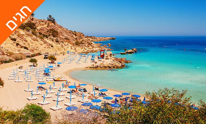 4 5 כוכבים ב-Nissi Beach קפריסין - Adams Beach Hotel, כולל סופ''ש ושבועות