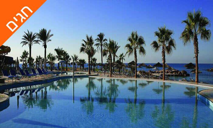 7 5 כוכבים ב-Nissi Beach קפריסין - Adams Beach Hotel, כולל סופ''ש ושבועות