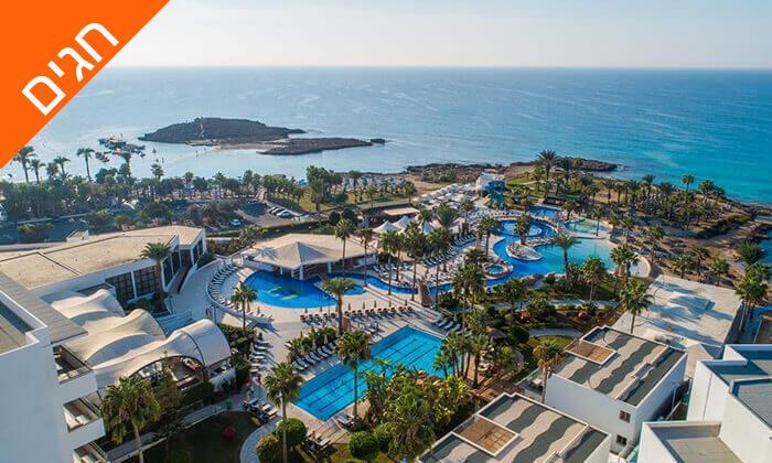 10 5 כוכבים ב-Nissi Beach קפריסין - Adams Beach Hotel, כולל סופ''ש ושבועות