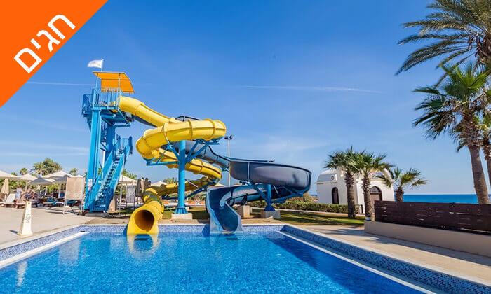 9 5 כוכבים ב-Nissi Beach קפריסין - Adams Beach Hotel, כולל סופ''ש ושבועות