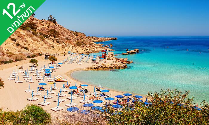 4 5 כוכבים ב-Nissi Beach קפריסין - Adams Beach Hotel, כולל סופ''ש