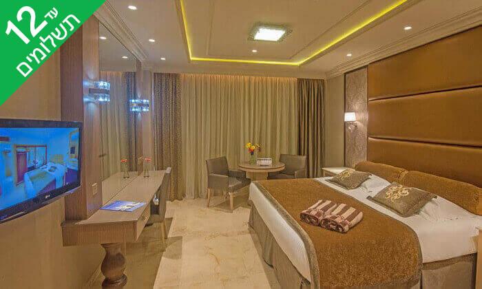 6 5 כוכבים ב-Nissi Beach קפריסין - Adams Beach Hotel, כולל סופ''ש