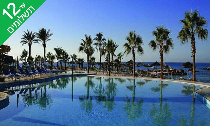 7 5 כוכבים ב-Nissi Beach קפריסין - Adams Beach Hotel, כולל סופ''ש