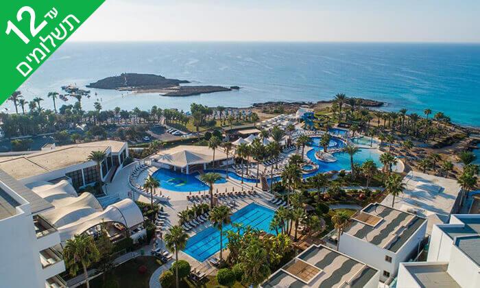 10 5 כוכבים ב-Nissi Beach קפריסין - Adams Beach Hotel, כולל סופ''ש