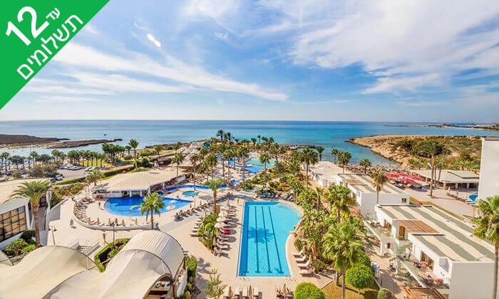 2 5 כוכבים ב-Nissi Beach קפריסין - Adams Beach Hotel, כולל סופ''ש