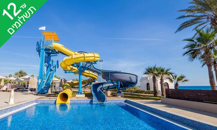 9 5 כוכבים ב-Nissi Beach קפריסין - Adams Beach Hotel, כולל סופ''ש