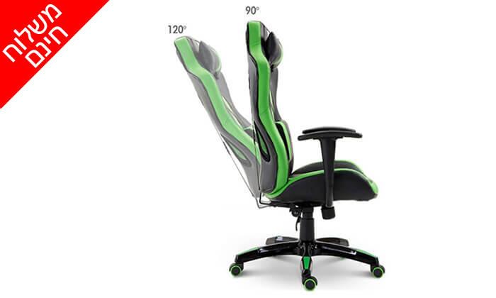 5 כיסא גיימרים אורתופדי - משלוח חינם!