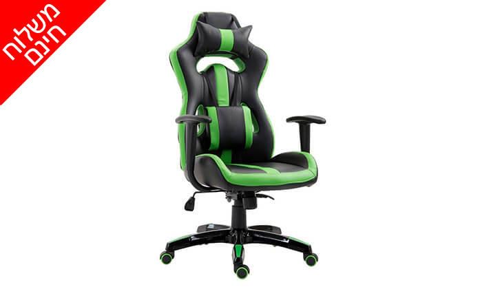 7 כיסא גיימרים אורתופדי - משלוח חינם!