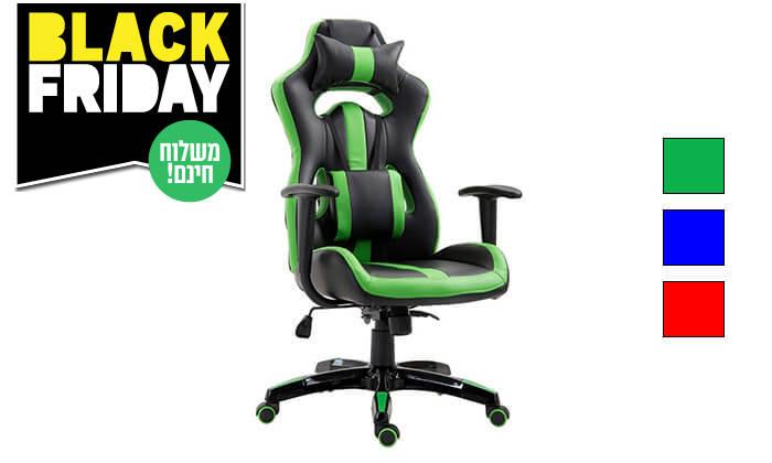 2 כיסא גיימרים אורתופדי - משלוח חינם!