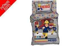 סט מצעים לילדים סמי הכבאי HERO