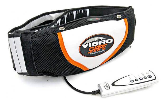 5 חגורת עיסוי והרזיה חשמלית VIBRO SHAPE