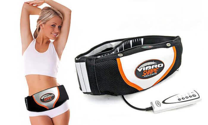 2 חגורת עיסוי והרזיה חשמלית VIBRO SHAPE
