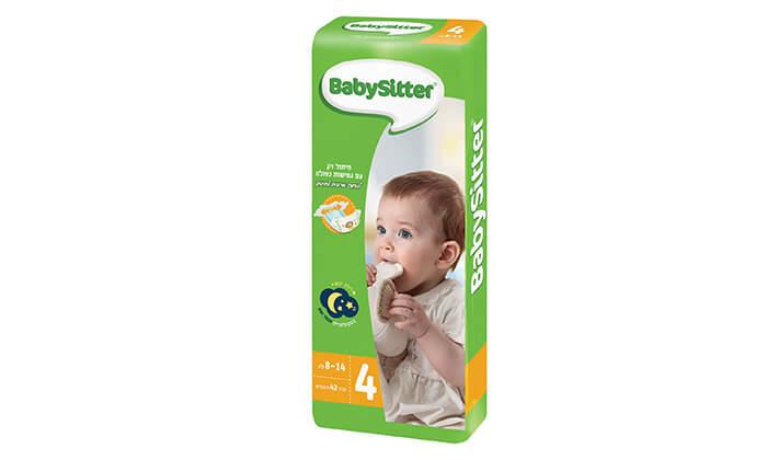 4 5 חבילות חיתולי בייביסיטר Babysitter