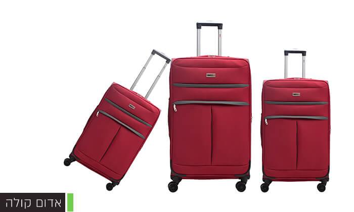 5 סט שלושמזוודות סוויס SWISS