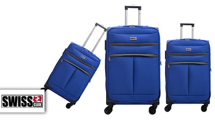 2 סט שלושמזוודות סוויס SWISS