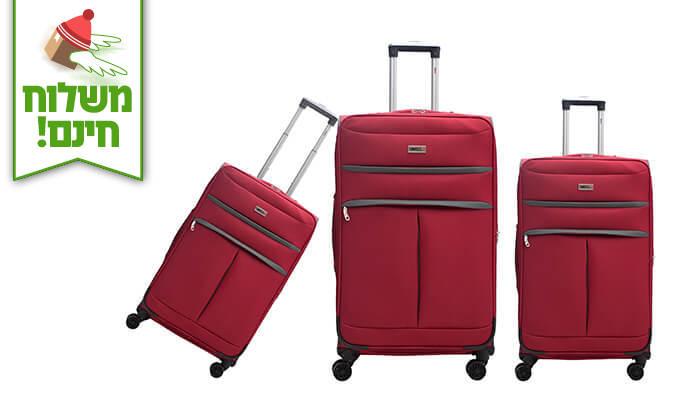 8 סט שלושמזוודות סוויס SWISS - משלוח חינם