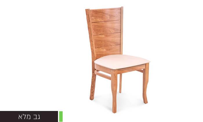 4 פינת אוכל עם 6 או 8 כיסאות LEONARDO, דגם קווינס
