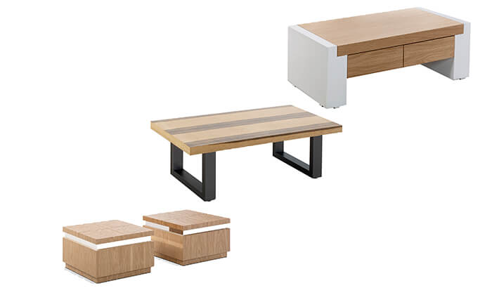 2 שולחן סלון מעוצב LEONARDO