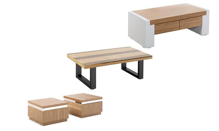 9 שולחן סלון מעוצב LEONARDO