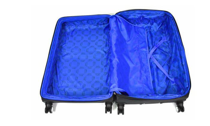 9 סט 3 מזוודות בד קשיחות למחצה Slazenger
