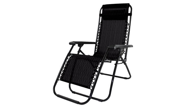 2 כיסא נוח נפתח למיטת שיזוף