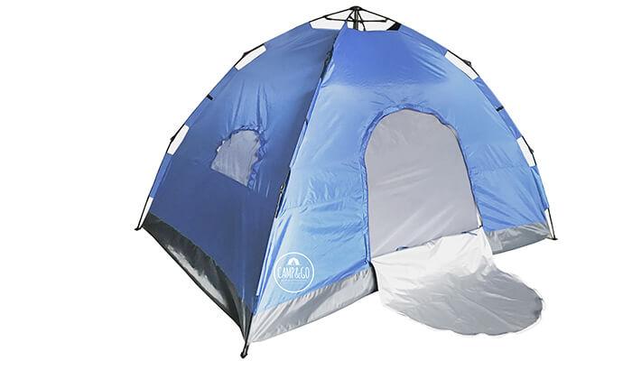 2 אוהל ל-6 אנשים CAMP&GO
