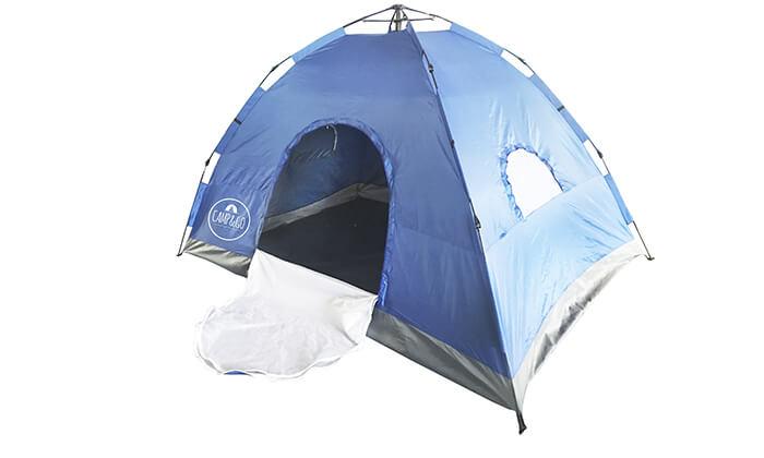 3 אוהל ל-6 אנשים CAMP&GO