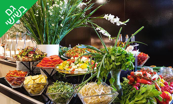 7 ארוחת בוקר בופה במלון לאונרדו ביץ', חוף גורדון תל אביב