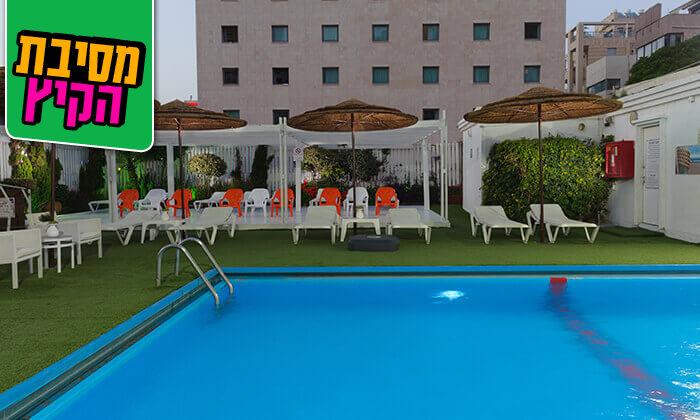 4 יום כיף במלון לאונרדו ביץ' תל אביב