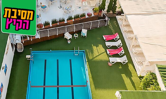 8 יום כיף במלון לאונרדו ביץ' תל אביב
