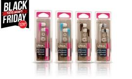 4 אוזניות כפתור סיליקון LEXUS