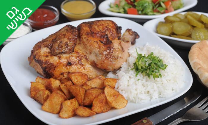 2 ארוחה בשרית במסעדת חצ'פוריקס, תל אביב