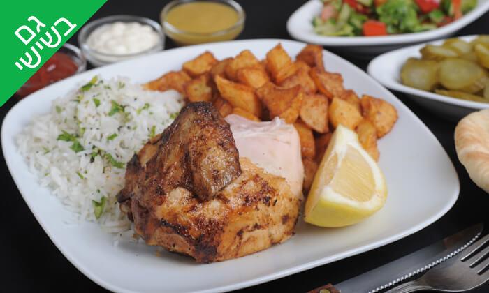 6 ארוחה בשרית במסעדת חצ'פוריקס, תל אביב
