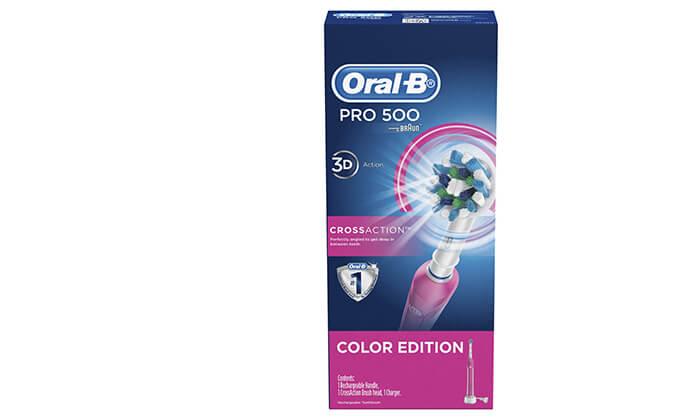 2 מברשת שיניים חשמלית אורל בי Oral-B - משלוח חינם